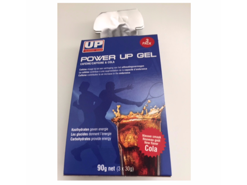 POWER UP GEL COLA 3 X 30 g   1