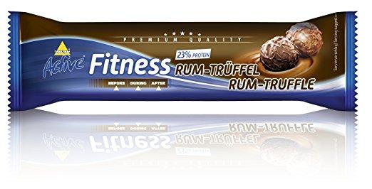 barres fitness rum truffel  24 stuks