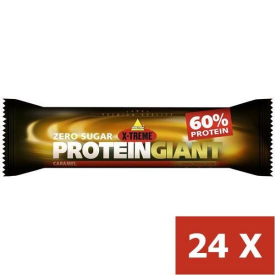 PROTEIN GAINT CARAMEL BARS 24