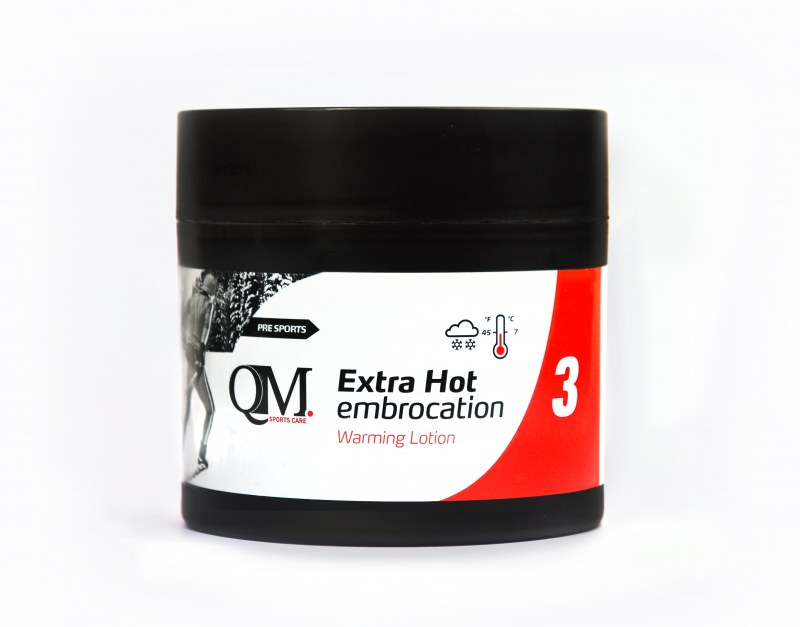 QM 3 extra hot embrocation 200ml