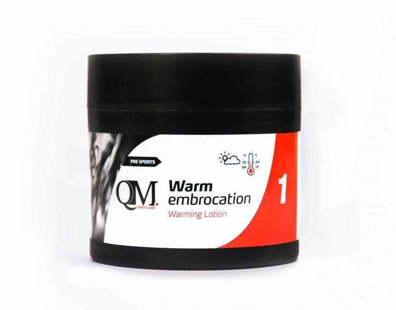 QM 1 warm embrocation 200ml