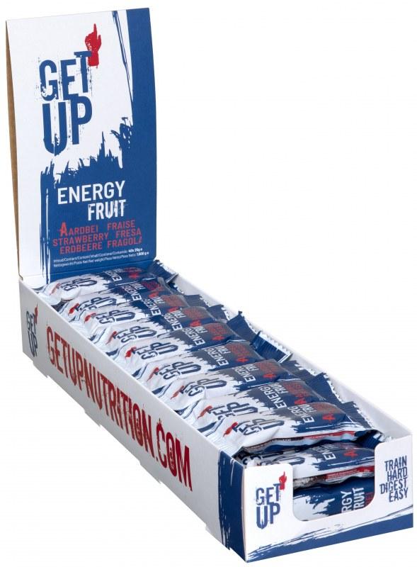 GET UP Energy fruit aardbei 40 stuks